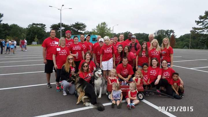 Team Leann   Congenital Heart Walk T-Shirt Photo