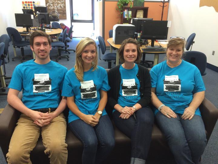 Writing Center T Shirts    At Last! T-Shirt Photo