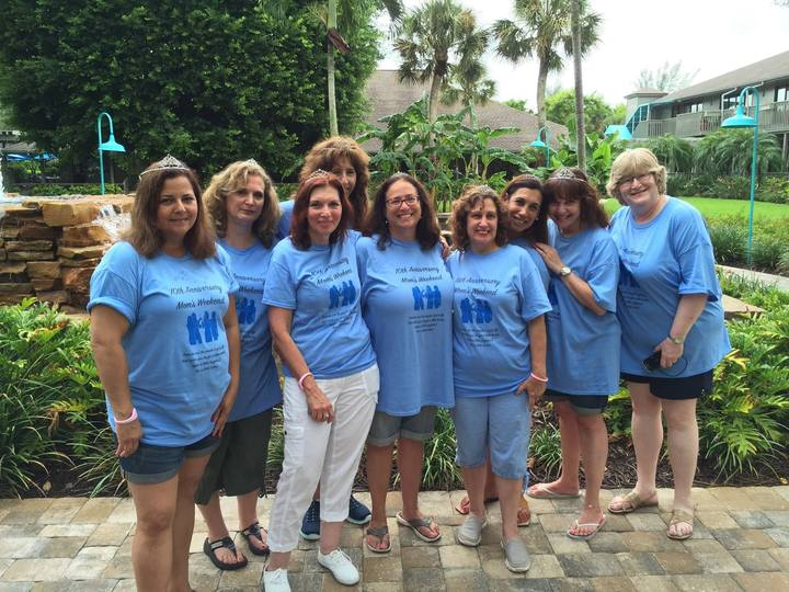 Mom's 10th Anniversary Getaway T-Shirt Photo