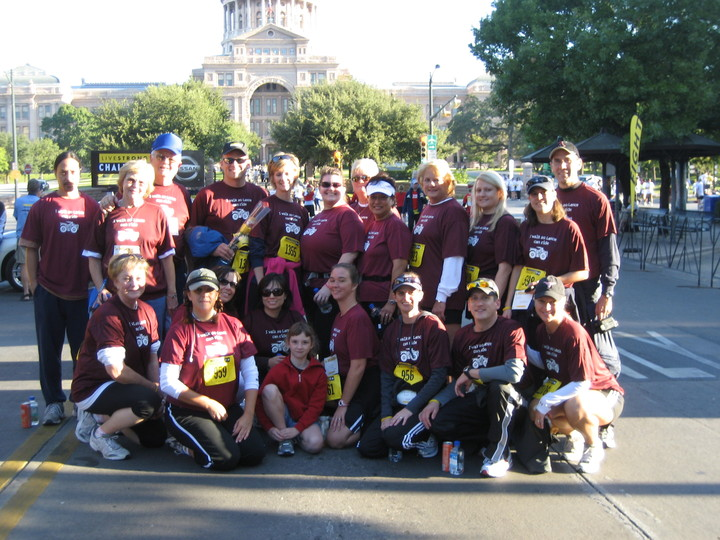 2008 Live Strong Challenge Austin T-Shirt Photo