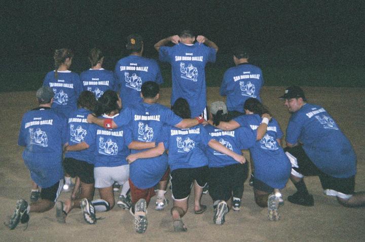 San Diego Ballaz 2006 T-Shirt Photo