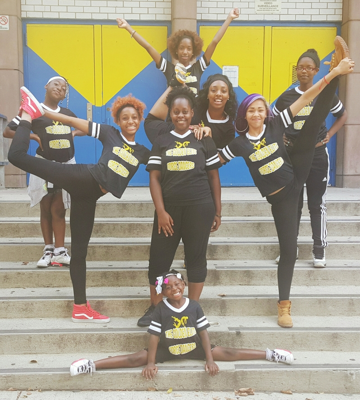 The Golden Elite Force Dancers T-Shirt Photo
