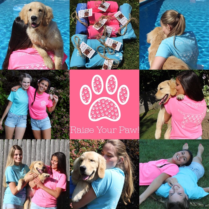 The Big Puppy Collage  T-Shirt Photo