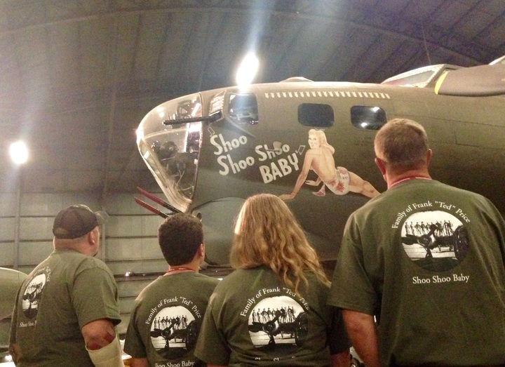 464th Bomb Group   Wwii   Reunion T-Shirt Photo