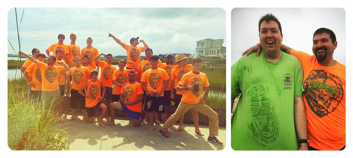 Manly Camping Weekend   Sweaty T Shirt Transfer T-Shirt Photo