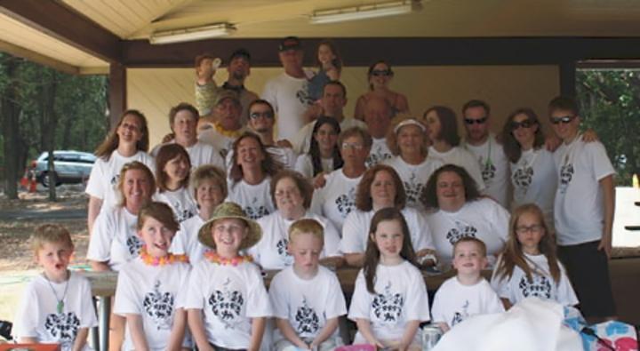 The Knapp Family Reunion T-Shirt Photo