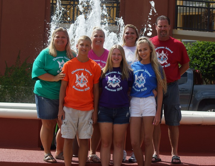 Luther Summer Family Vacation T-Shirt Photo