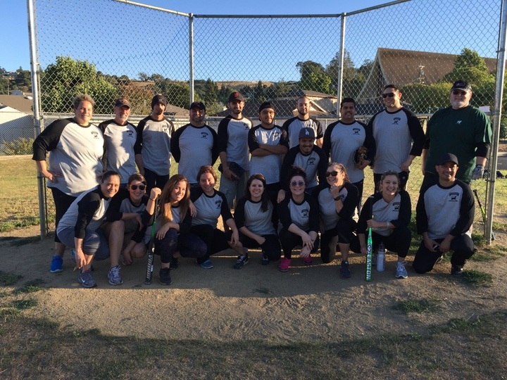 Straus Family Creamery Softball Fun T-Shirt Photo