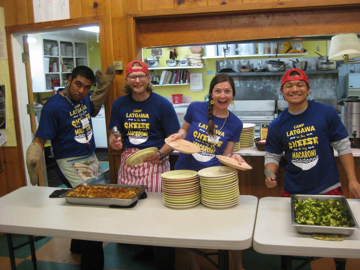 Camp Latgawa Is The Cheese To My Macaroni! T-Shirt Photo