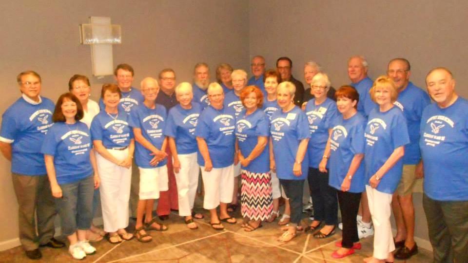 Custom t shirts for murphy h s atlanta 50th anniversary for T shirt printing norcross ga