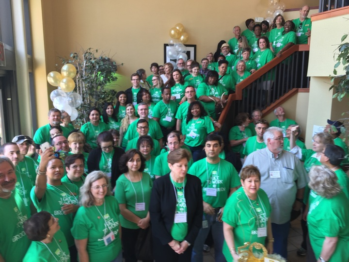 Brookhaven College Celebrates Dcccd 50th T-Shirt Photo