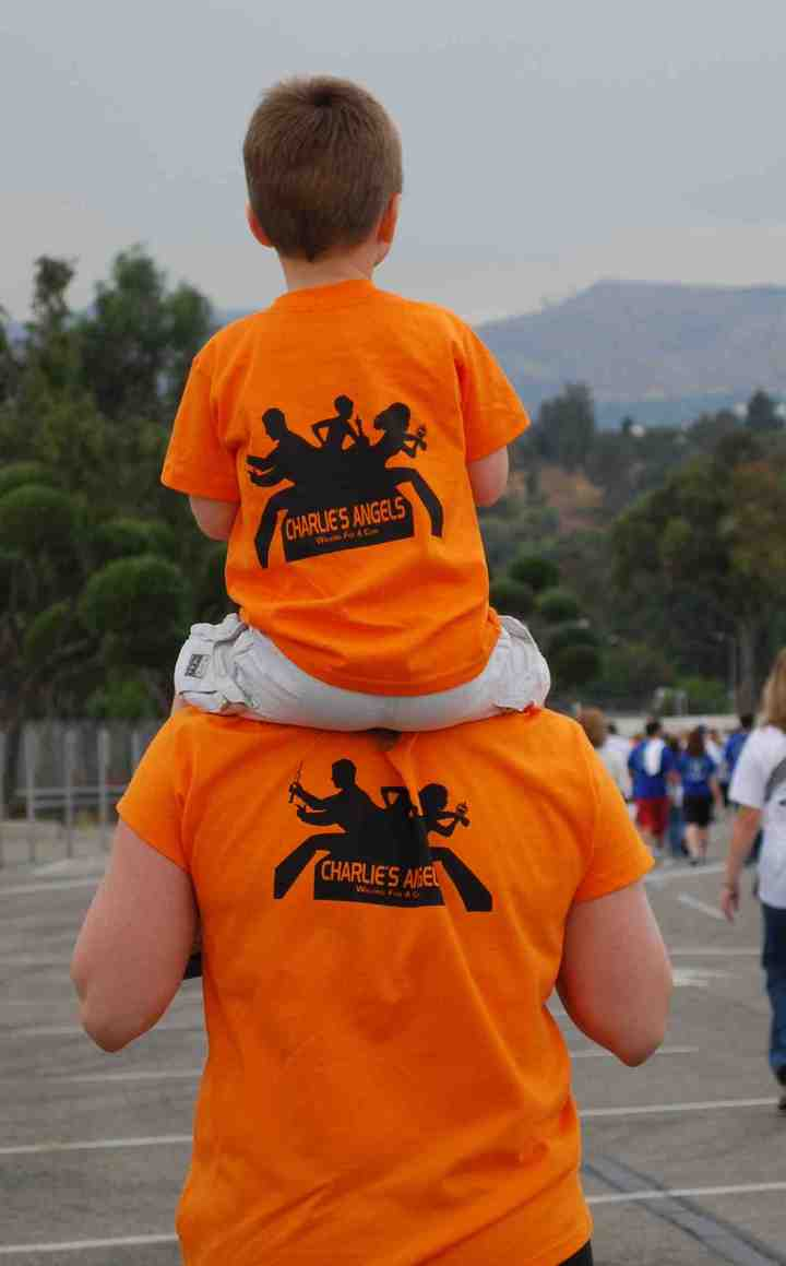 For Charlie And His Angels T-Shirt Photo