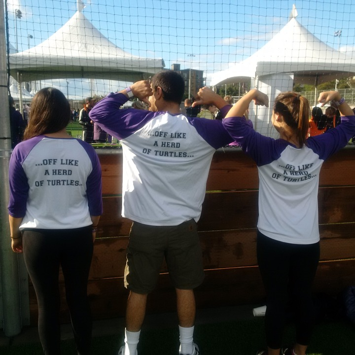 Team Peeps  Alzheimers Walk T-Shirt Photo