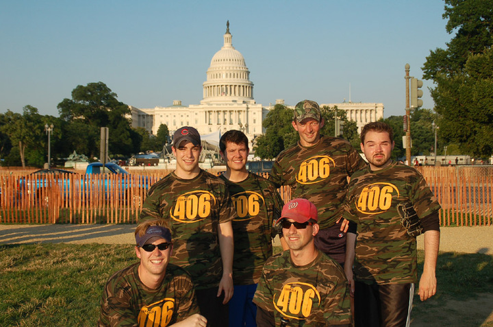 Formula 406 House Of Representatives Softball Team T-Shirt Photo