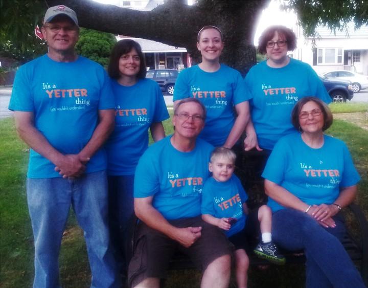 Yetter Reunion T-Shirt Photo