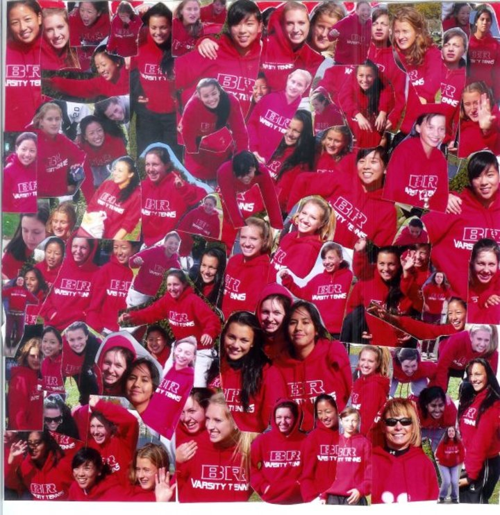 Bridgewater Raritan Varsity Tennis 2008 T-Shirt Photo