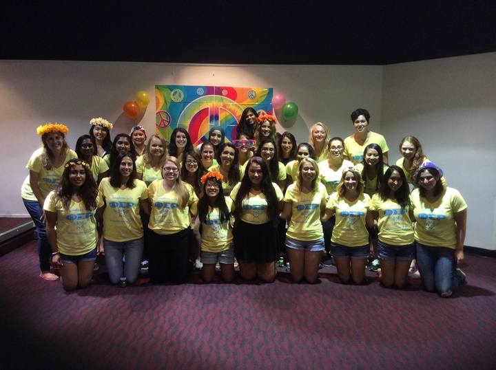 Phi Sigma Rho Fall Recruitment 2015 T-Shirt Photo