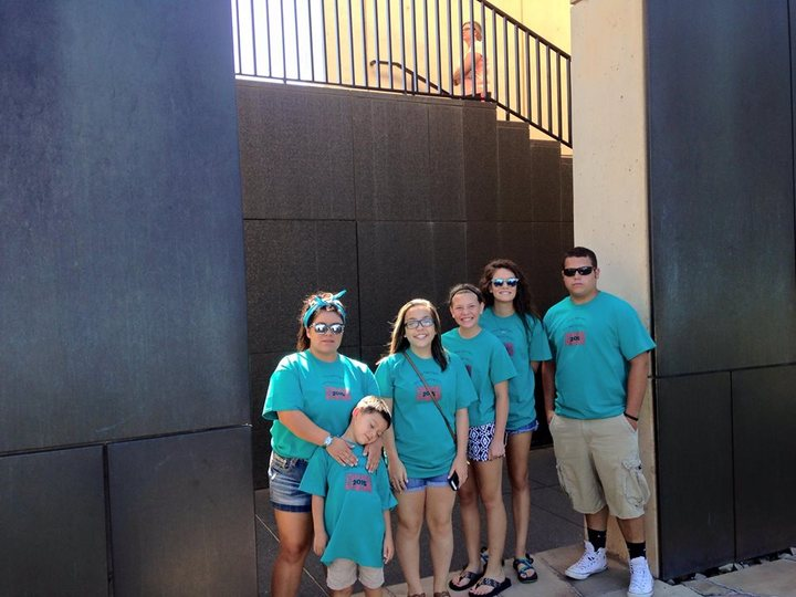 Camp Pa Mi Pa Mi Kids At Okc Bombing Memorial T-Shirt Photo