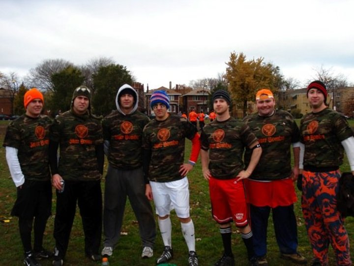 Team Jagermeister   K.E.G. 7v7 Football '08 T-Shirt Photo