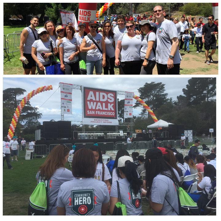 San Francisco Aids Walk 2015 T-Shirt Photo