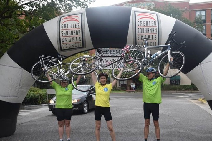 100 Mile Ride For Be The Match T-Shirt Photo