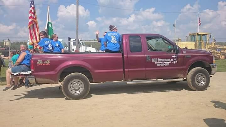 Heading To The Parade T-Shirt Photo