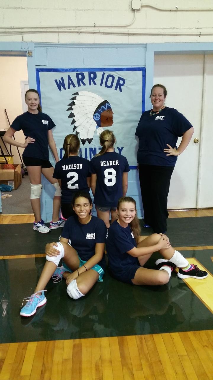 Got Served   Ta Volleyball 2014 T-Shirt Photo