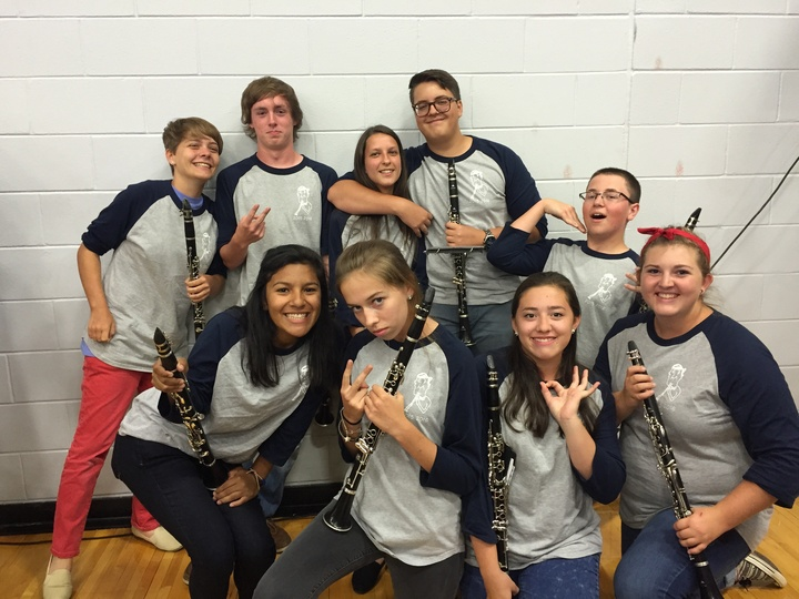 Montgomery High School Clarinets T-Shirt Photo