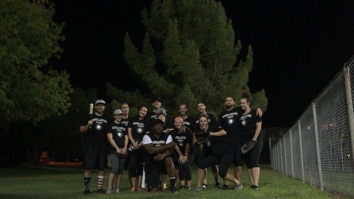 Gorillafied Softball  T-Shirt Photo