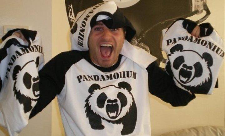 The Championship Softball Game Was Pandamonium T-Shirt Photo
