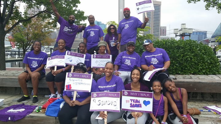 Team Steps4 Sandra T-Shirt Photo