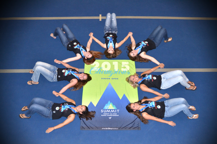 Summit Dance Champs Love Their Custom Ink Tanks! T-Shirt Photo