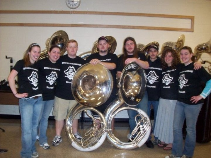 The Sousaphones With Their Shirts! T-Shirt Photo