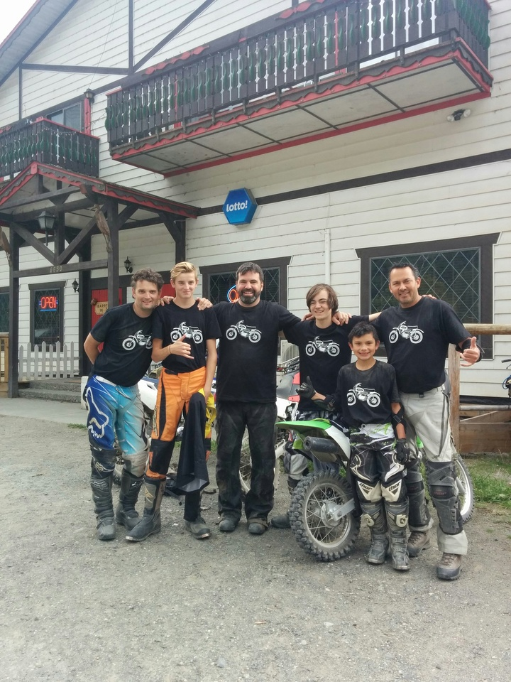 Anderson Lake Dust Up T-Shirt Photo