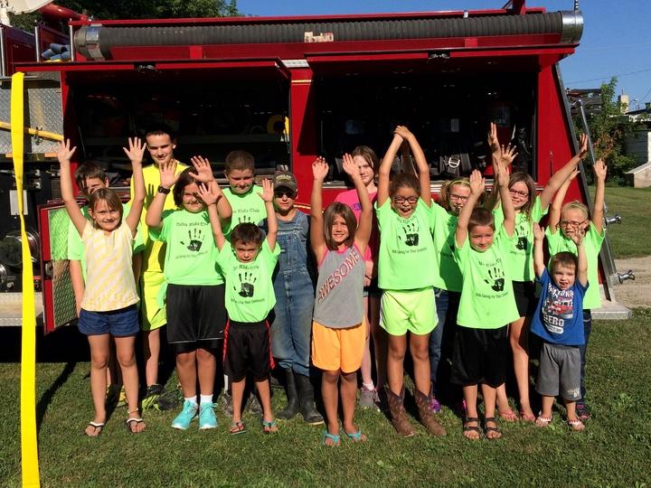 Delta Kids Club Meets Delta Fire T-Shirt Photo