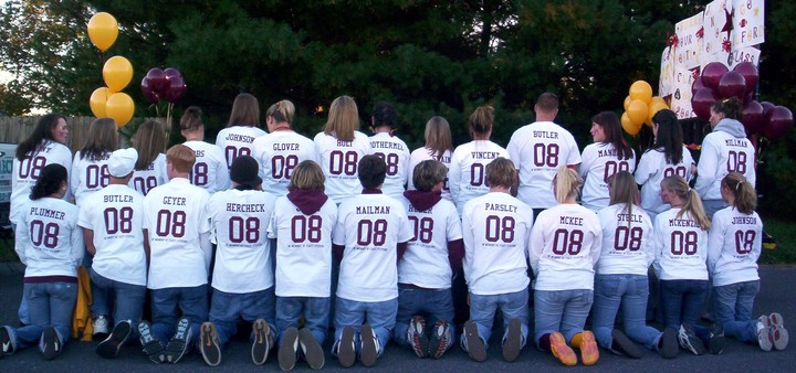 '08 Class Shirts T-Shirt Photo
