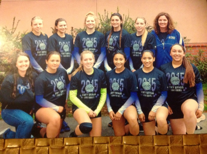 Lady Wolves Volleyball T-Shirt Photo