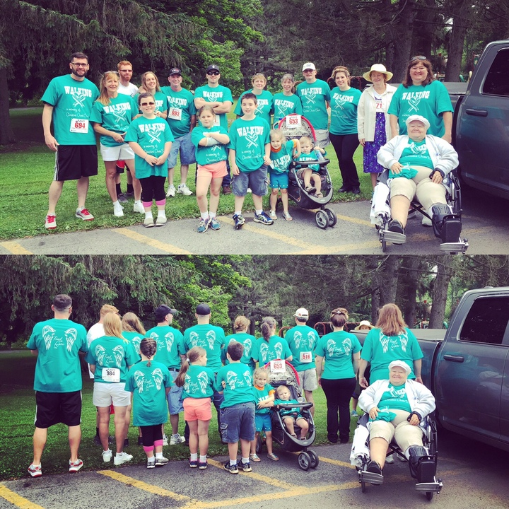 Teal There's A Cure T-Shirt Photo