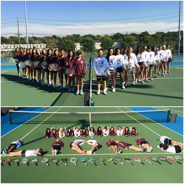 Lady Lions Take Tennis T-Shirt Photo