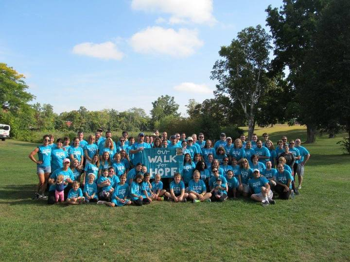 Our Walk For Hope T-Shirt Photo