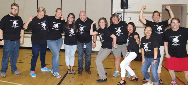 Marcy Open School Staff Embracing Challenge T-Shirt Photo