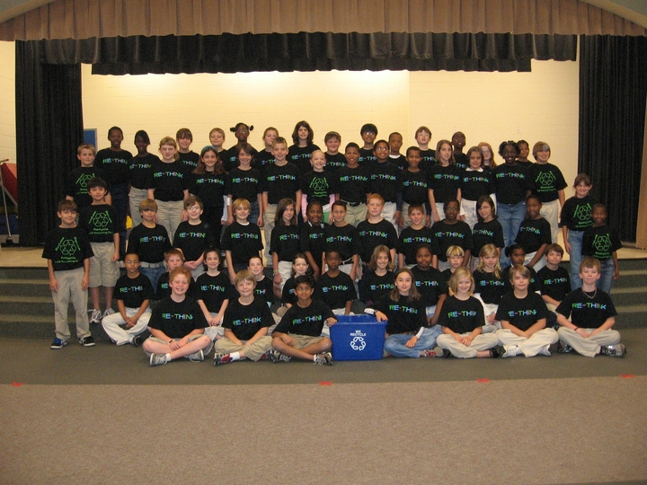 Lake Carolina Elementary Recycling Club T-Shirt Photo
