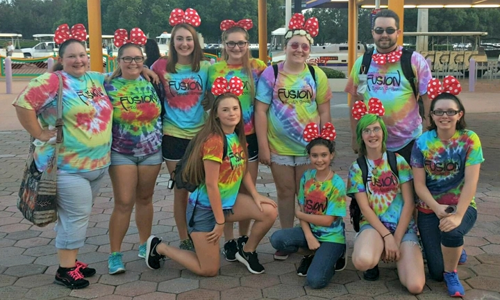 Fusion At Disney's Night Of Joy T-Shirt Photo