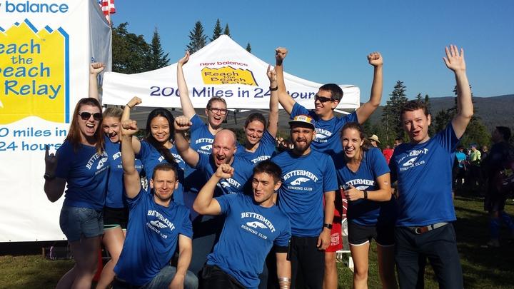 #Better Runners Reach The Beach T-Shirt Photo