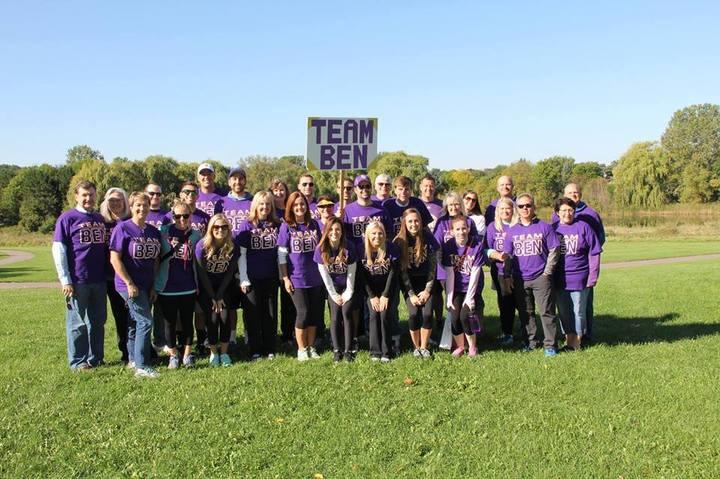 Team Ben 2015 T-Shirt Photo