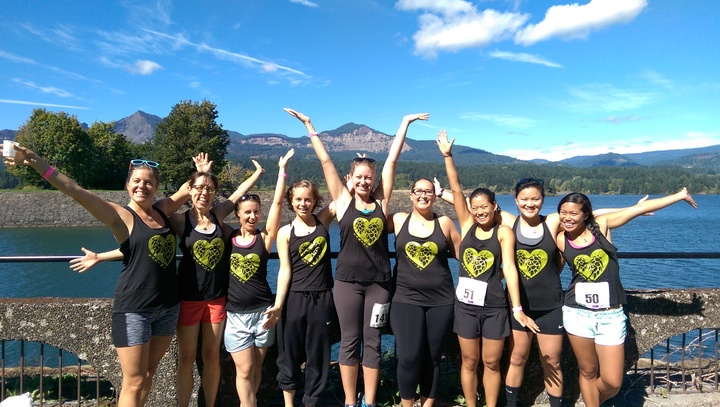 Proud Yakimaniacs Take On The Gorge T-Shirt Photo