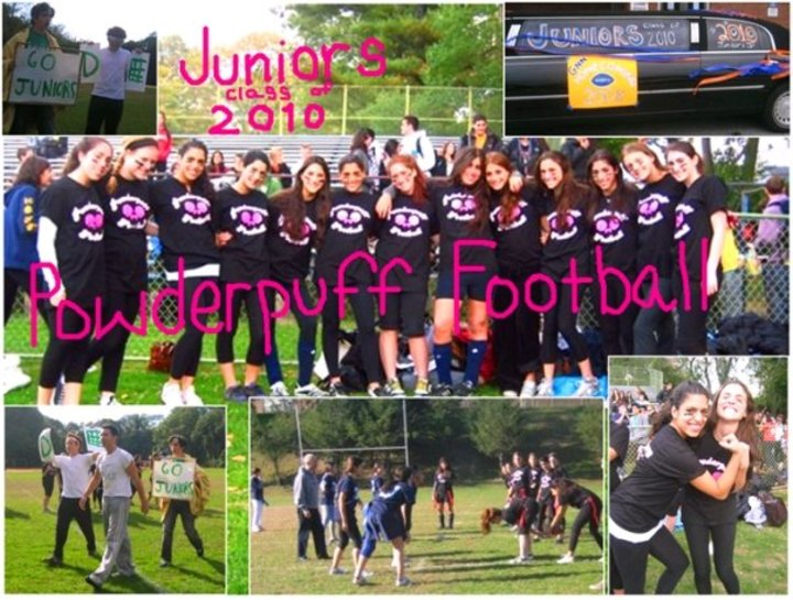 Gnn Junior's Powderpuff Football Team T-Shirt Photo