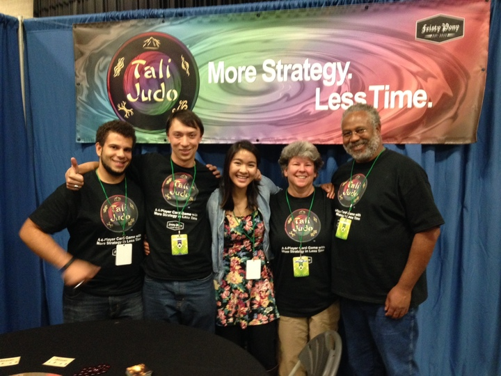 The Tali Judo Team At Boston's Festival Of Indie Games T-Shirt Photo