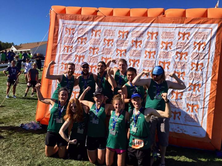 Ragnar Adirondacks 2015 Team 'deciduously Fast Birches' T-Shirt Photo