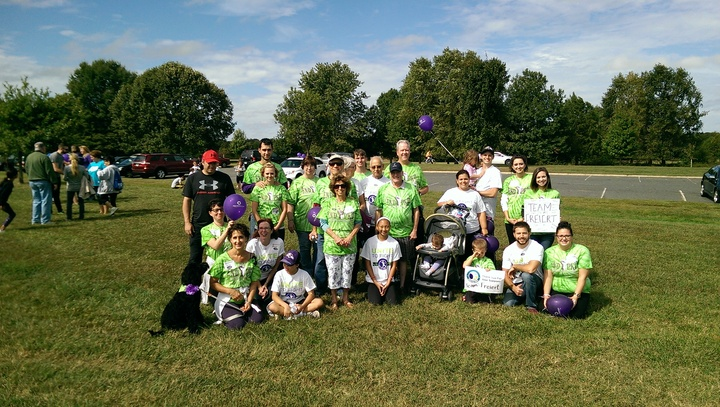 Team Freiert  Baltimore Pkd Walk 2015 T-Shirt Photo
